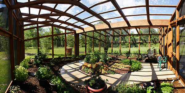 Butterfly House Panorama
