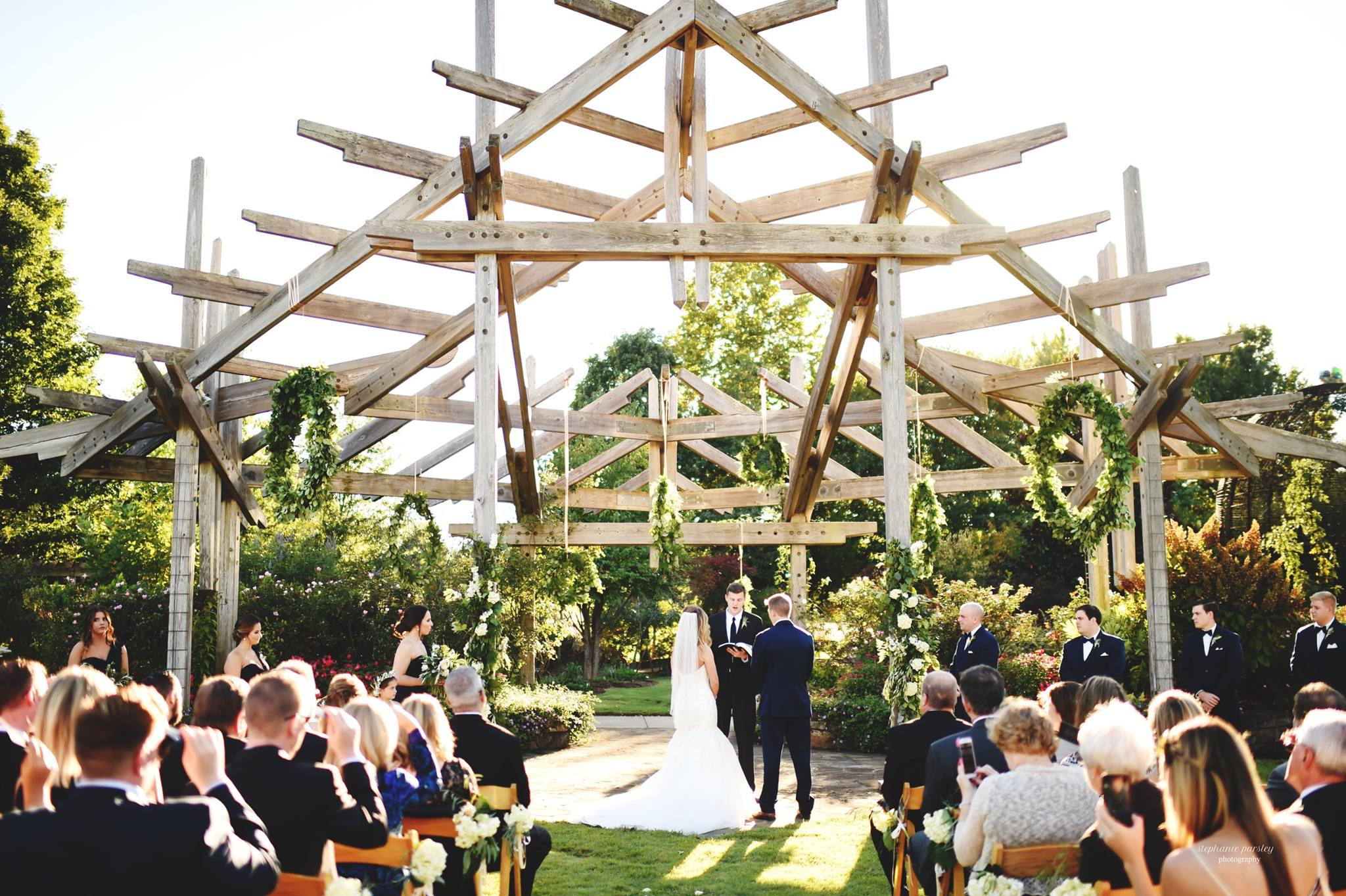 Weddings Private Events Botanical Garden Of The Ozarks